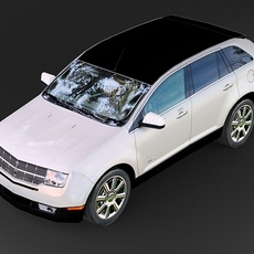 Lincoln MKX 2007 3D Model