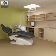 Dental surgery - Hospital 03 Set 3D Model
