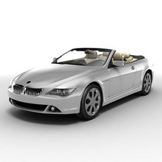 Bmw 6 series cabriolet 3D Model