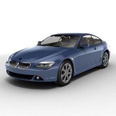 Bmw 6 series 3D Model