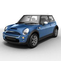 Bmw Mini Cooper S 3D Model