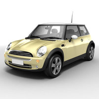 Bmw Mini Cooper 3D Model