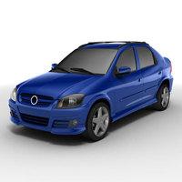Chevrolet Prisma 3D Model
