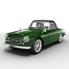 Datsun Fairlady 2000 3D Model