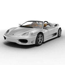 Ferrari 360 Spider 3D Model