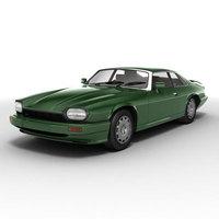 Jaguar XJS 3D Model