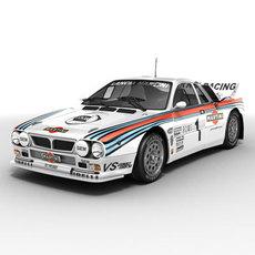 Lancia 037 rallycar 3D Model