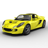 Lotus Elise 3D Model