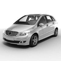 Mercedes-Benz B series 3D Model
