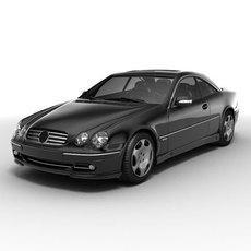 Mercedes-Benz CL600 3D Model