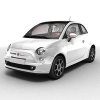 New Fiat 500 3D Model