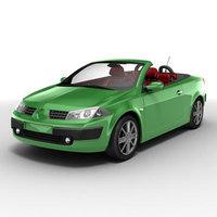 Renault Megane CC2 3D Model