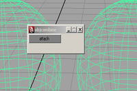 Free poly attach for Maya 0.0.1 (maya script)