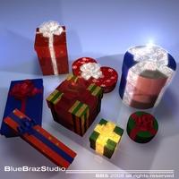 xmas gifts  3D Model