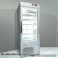 Patisserie display cases 3D Model