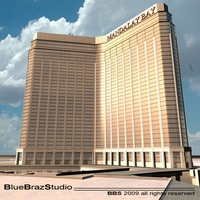 Las Vegas Mandalay Bay 3D Model