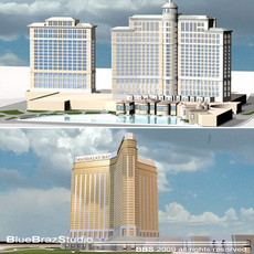 Mandalay Bay & Bellagio 3D Model