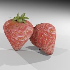 strawberry 3D Model