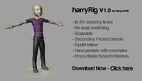 Free harryRig for Maya 1.0.0