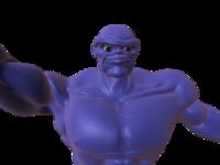 Free Blue_Man for Maya 1.0.0