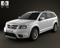 Fiat Freemont 2011 3D Model