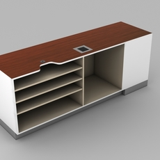 Retail Checkout -  Counter subassembly 3D Model