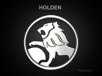 Holden 3d Logo 3D Model