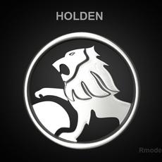 Holden 3d Logo 3D Model