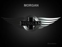 Morgan 3d Logo  3D Model