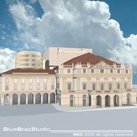 Scala theatre 3D Model