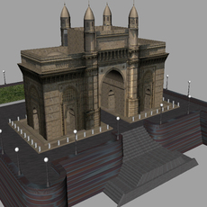 Gateway of India 3D Model