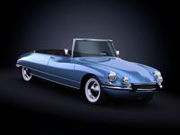 1958 Citroen DS19 3D Model