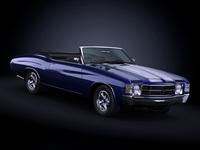 1971 Chevrolet Chevelle SS 3D Model