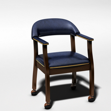 Casino Chair 3D Model