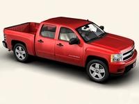 Chevrolet Silverado 2007 3D Model