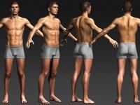Daniel 3D Model