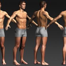 Daniel - various formats 3D Model