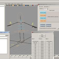 "Automated ""Animator Friendly Rigging"" for Maya 1.0.6 (maya script)"