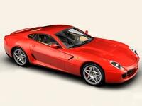 Ferrari 599 GTB Fiorano 3D Model