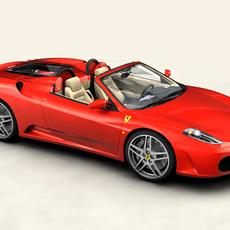 Ferrari F430 Spider 3D Model