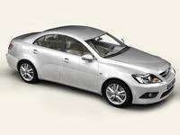Generic Car Middle Class 3D Model