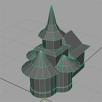 Free Orthodox Church 3D Model