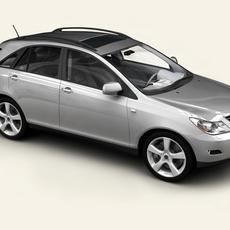 Generic Car SUV 3D Model