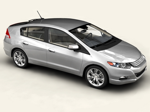 Honda Insight 2010 3D Model
