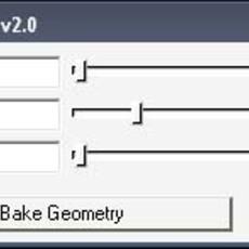 Shape Baker for Maya 2.0.1 (maya script)