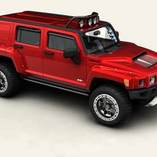 Hummer H3R 3D Model