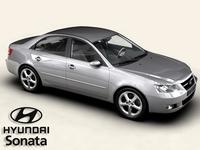 Hyundai Sonata 3D Model