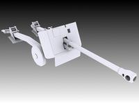 17 Pounder Anti-Tank 3D Model