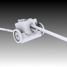 Pak 38 Anti-Tank 3D Model