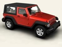 Jeep Wrangler 2007 3D Model